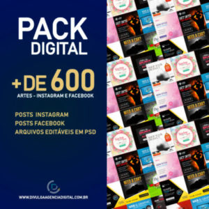 PACK DIGITAL + DE 600 ARTES